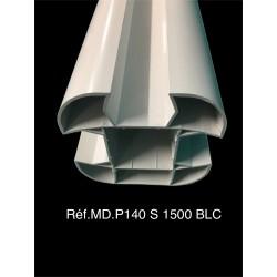 Poteau PVC - P140 - 1,5m