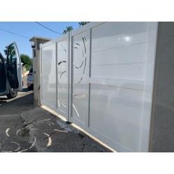 Portail Aluminium Deux...